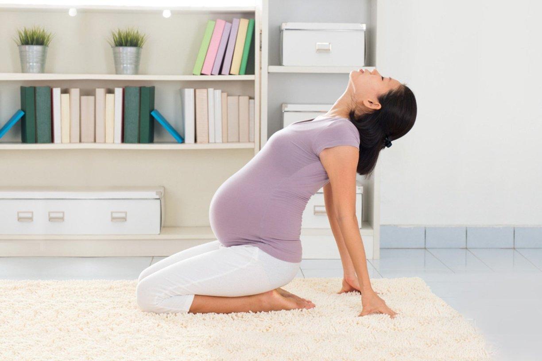 Польза спорта при беременности